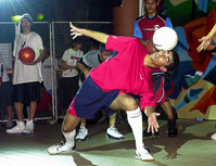 Abbas Farid Pro Football Freestyler - One of the world's most respected freestyle judges.